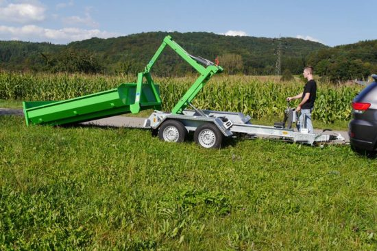 Tischler Fahrzeugtechnik Abrollkippanhänger